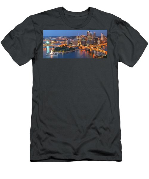 From The Fountain To Ft. Pitt Men's T-Shirt (Athletic Fit)