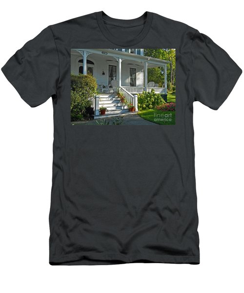 Front Porch In Summer Men's T-Shirt (Athletic Fit)