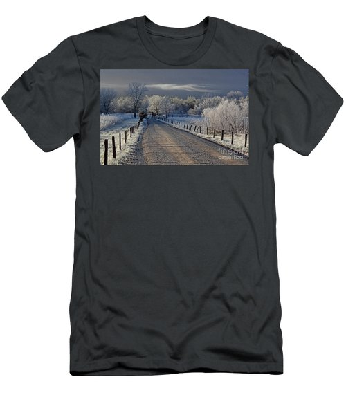 Frosty Sparks Lane Men's T-Shirt (Athletic Fit)