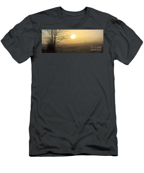 Frosty Sunrise Men's T-Shirt (Athletic Fit)