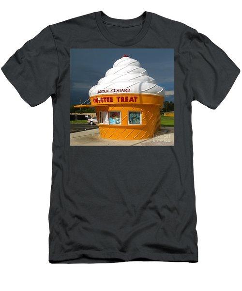 Frozen Custard Before The Storm Building Men's T-Shirt (Athletic Fit)