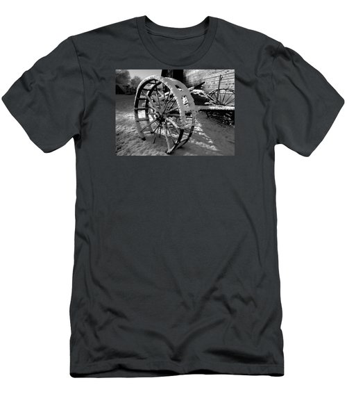 Men's T-Shirt (Slim Fit) featuring the photograph Frozen In Time by Steven Milner