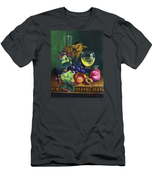 Fruit And Wine Men's T-Shirt (Athletic Fit)