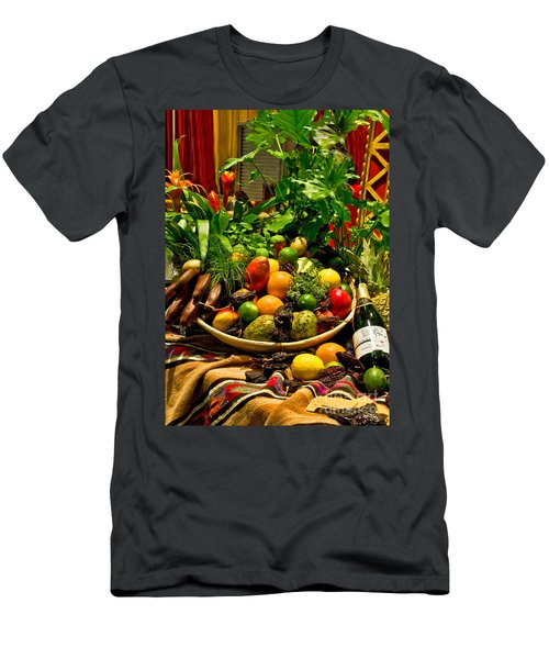 Men's T-Shirt (Athletic Fit) featuring the photograph Fruit And Wine by Mae Wertz