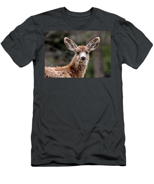 Fuzzy Fawn Men's T-Shirt (Athletic Fit)