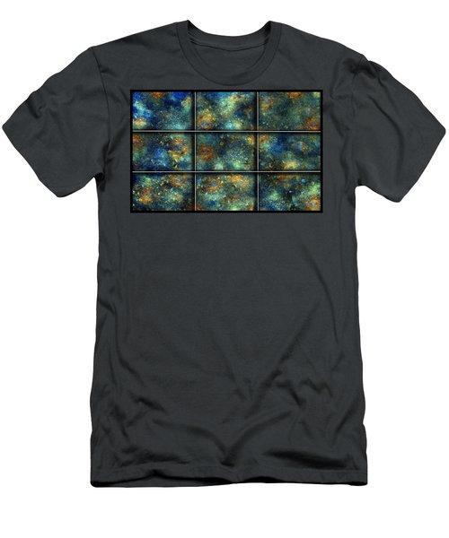 Galaxies II Men's T-Shirt (Athletic Fit)