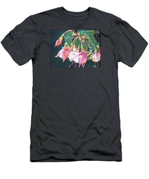 Garden Ballerinas Men's T-Shirt (Athletic Fit)