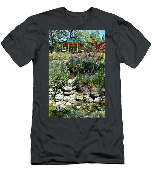 Garden Gazebo Men's T-Shirt (Athletic Fit)