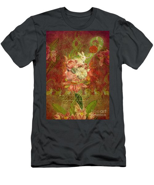 Garden Of Dreams Men's T-Shirt (Athletic Fit)