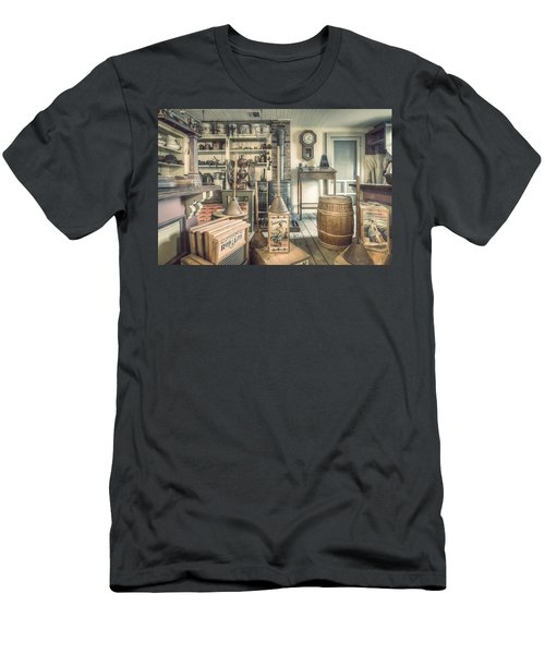 General Store - 19th Century Seaport Village Men's T-Shirt (Athletic Fit)