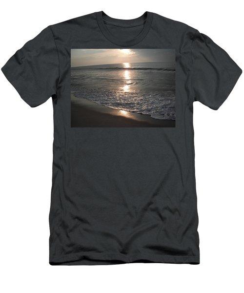Ocean - Gentle Morning Waves Men's T-Shirt (Slim Fit) by Susan Carella