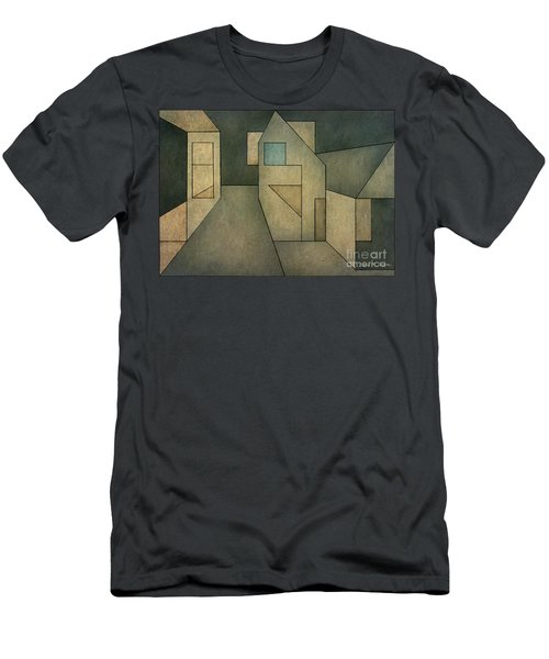 Geometric Abstraction II Men's T-Shirt (Athletic Fit)