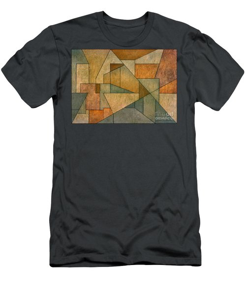 Geometric Abstraction Iv Men's T-Shirt (Athletic Fit)