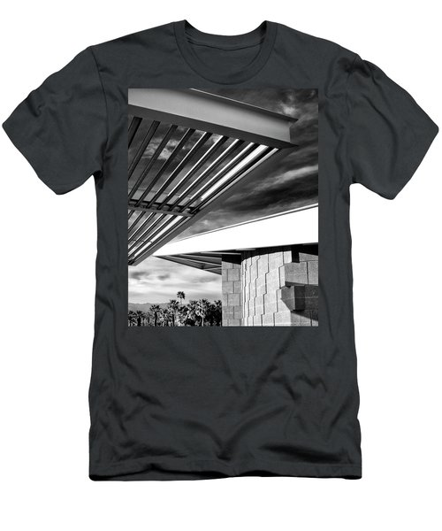 Geometry Lesson Palm Springs Tram Station Men's T-Shirt (Athletic Fit)