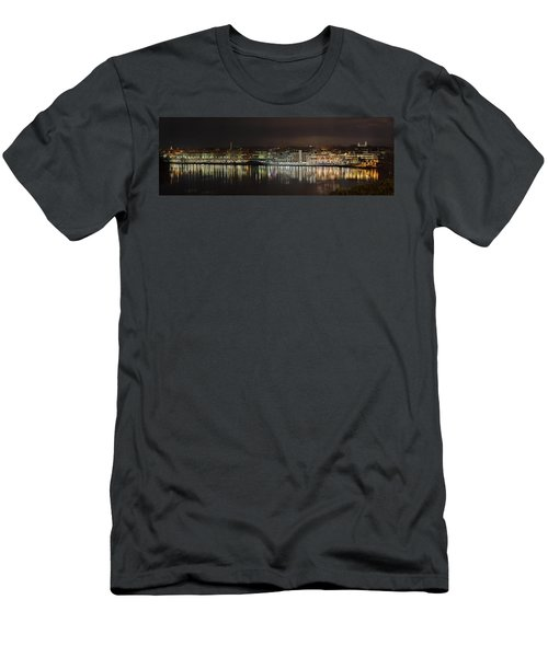 Georgetown Waterfront Men's T-Shirt (Athletic Fit)