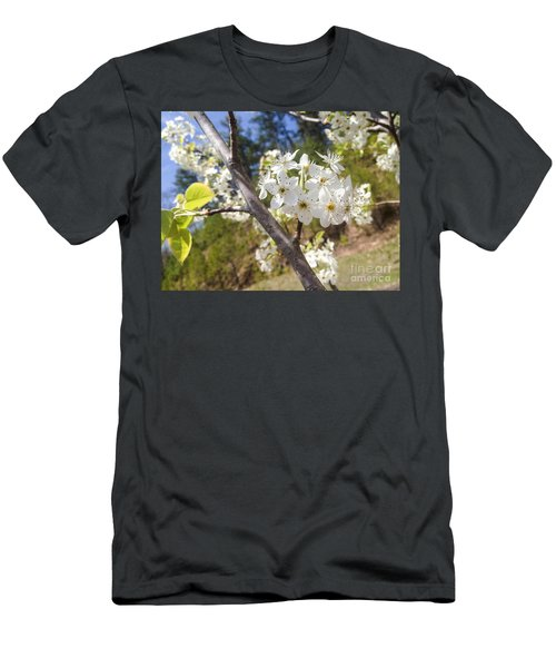 Georgia Blossoms Men's T-Shirt (Athletic Fit)