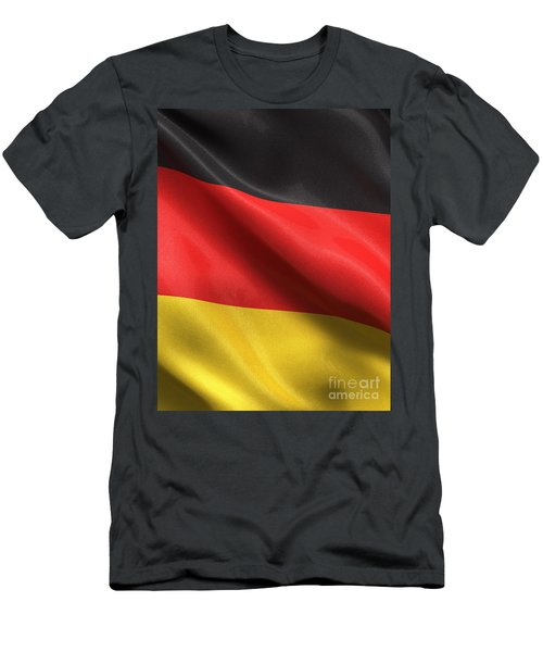 Men's T-Shirt (Slim Fit) featuring the photograph Germany Flag by Carsten Reisinger
