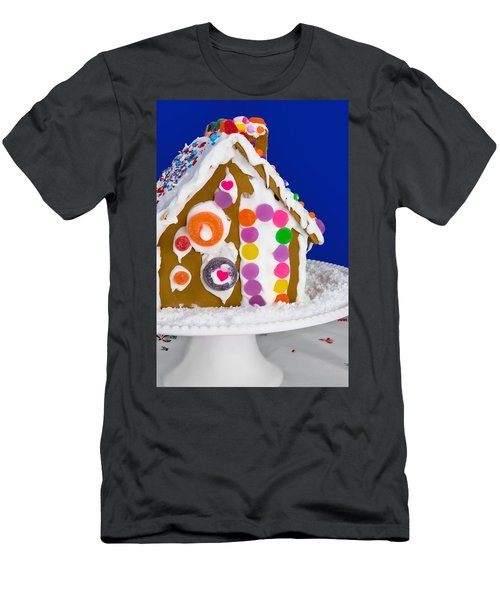Men's T-Shirt (Slim Fit) featuring the photograph Gingerbread House by Vizual Studio