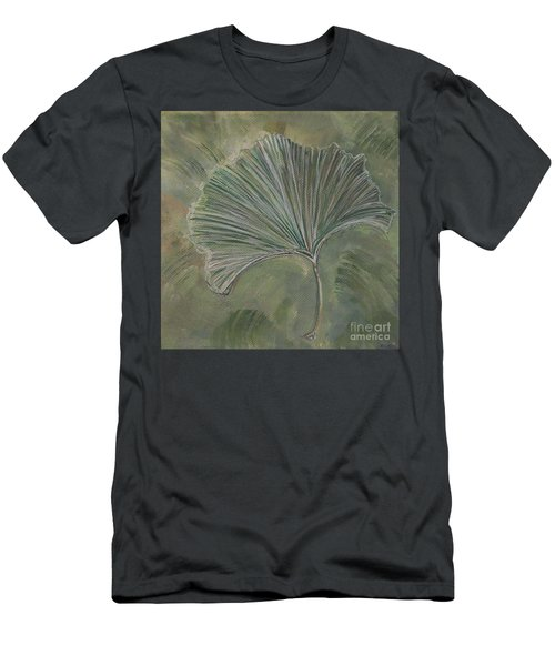 Ginko Leaf Men's T-Shirt (Athletic Fit)