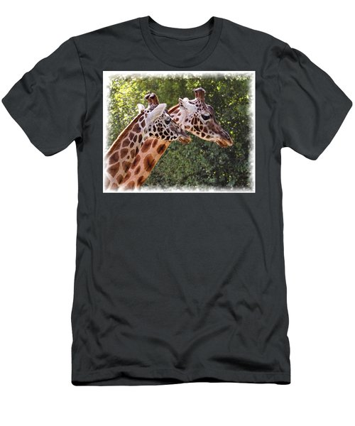 Giraffe 03 Men's T-Shirt (Athletic Fit)
