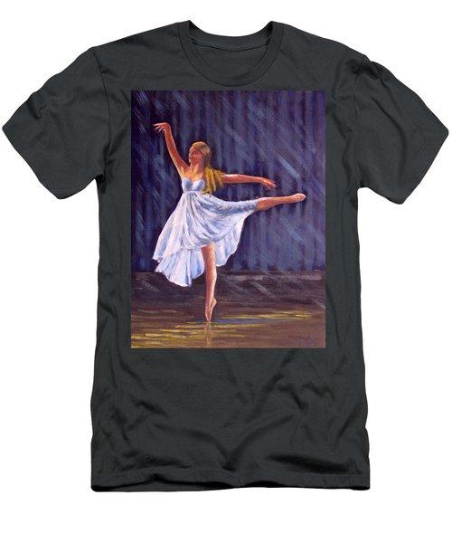Girl Ballet Dancing Men's T-Shirt (Athletic Fit)
