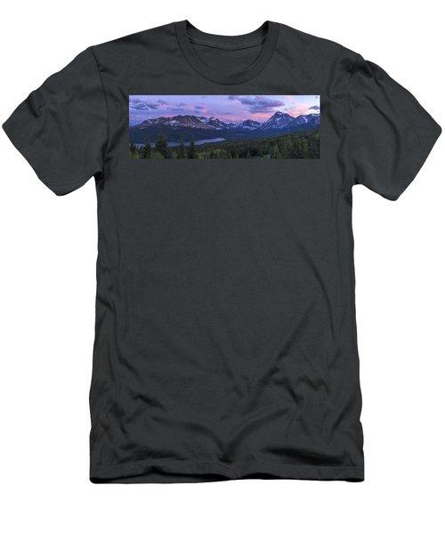 Glacier Glow Men's T-Shirt (Athletic Fit)