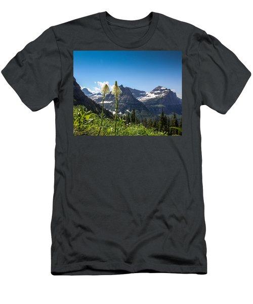 Glacier Grass Men's T-Shirt (Athletic Fit)