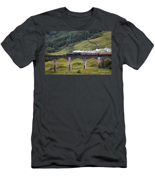 Glenfinnan Viaduct - D002340 Men's T-Shirt (Athletic Fit)