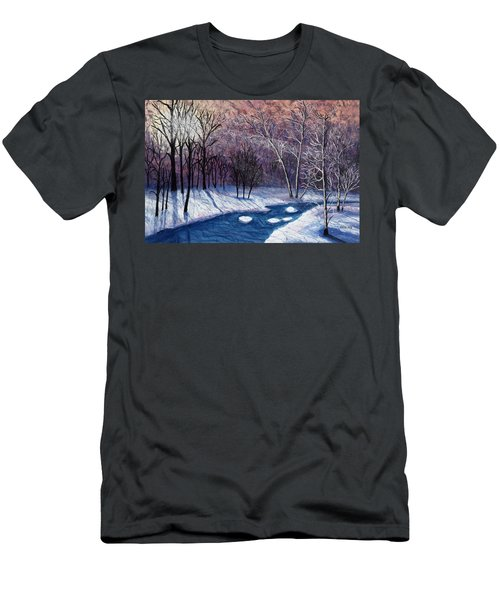 Glistening Branches Men's T-Shirt (Athletic Fit)