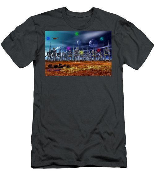 Men's T-Shirt (Slim Fit) featuring the photograph Gloeroxz by Mark Blauhoefer