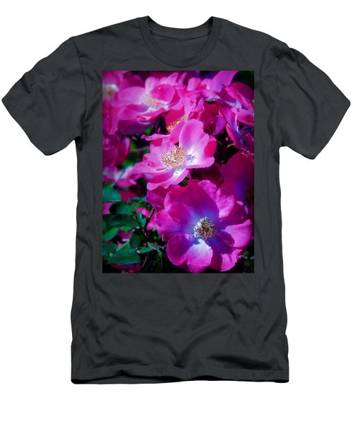 Glorious Blooms Men's T-Shirt (Athletic Fit)