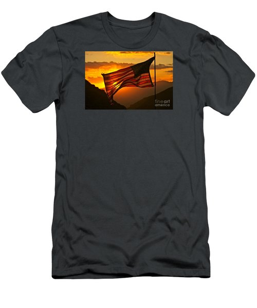 Glory At Sunset Men's T-Shirt (Athletic Fit)