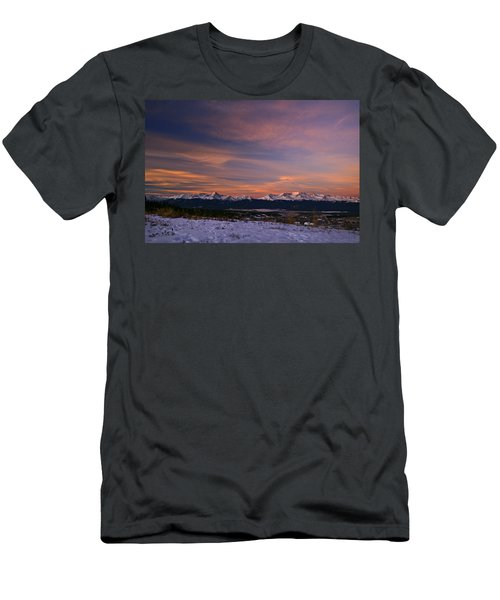 Glow Of Morning Men's T-Shirt (Athletic Fit)