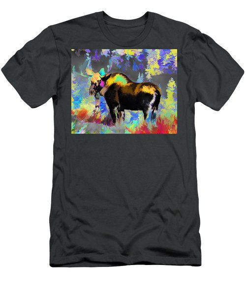 Electric Moose Men's T-Shirt (Athletic Fit)