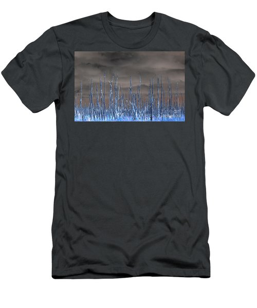 Glowing Trees 1 Men's T-Shirt (Athletic Fit)