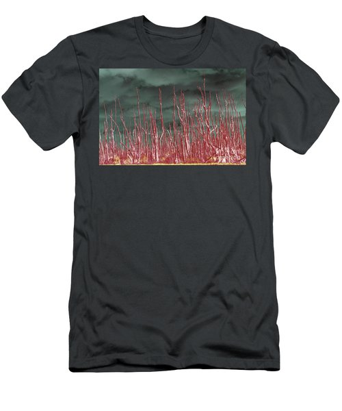 Glowing Trees 2 Men's T-Shirt (Athletic Fit)