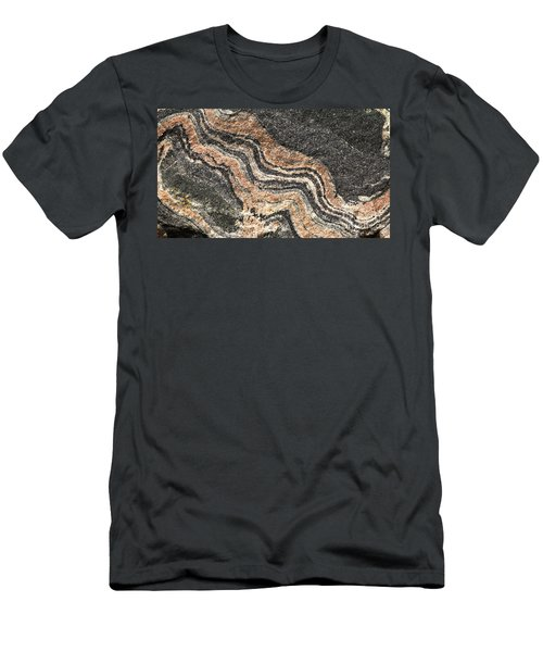 Gneiss Rock  Men's T-Shirt (Athletic Fit)