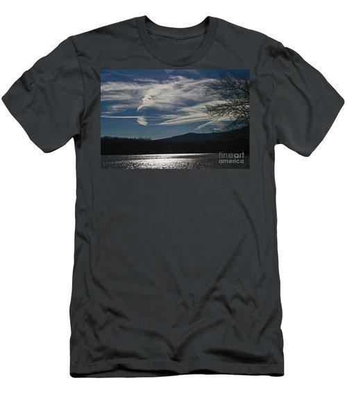 God Paints The Sky Men's T-Shirt (Athletic Fit)