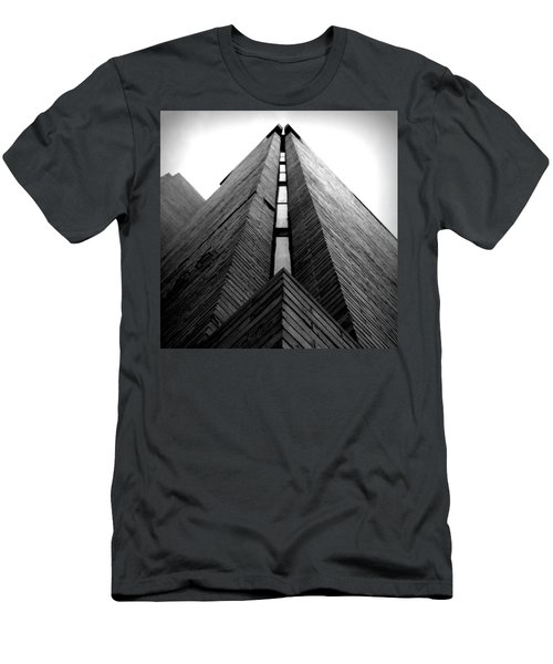 Goddard Stair Tower - Black And White Men's T-Shirt (Athletic Fit)
