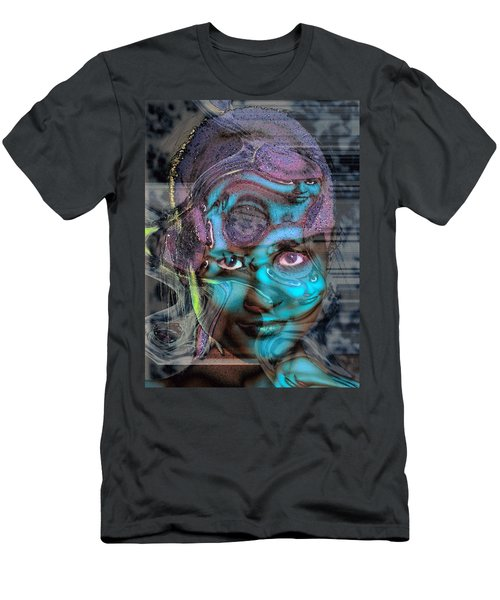 Men's T-Shirt (Slim Fit) featuring the photograph Goddess Of Love And Confusion by Richard Thomas
