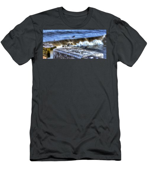 Men's T-Shirt (Athletic Fit) featuring the photograph Going Going Gone by Tyson Kinnison