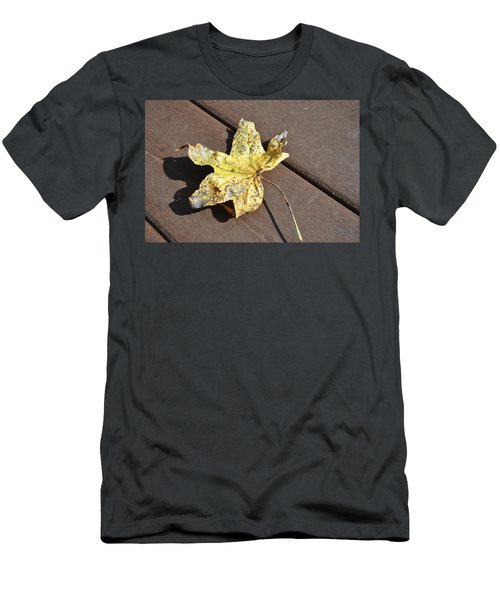 Gold Leaf Men's T-Shirt (Athletic Fit)