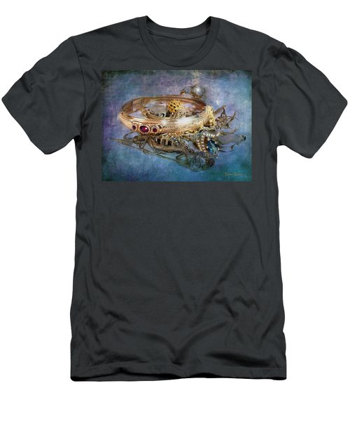 Men's T-Shirt (Athletic Fit) featuring the photograph Gold Treasure by Gunter Nezhoda
