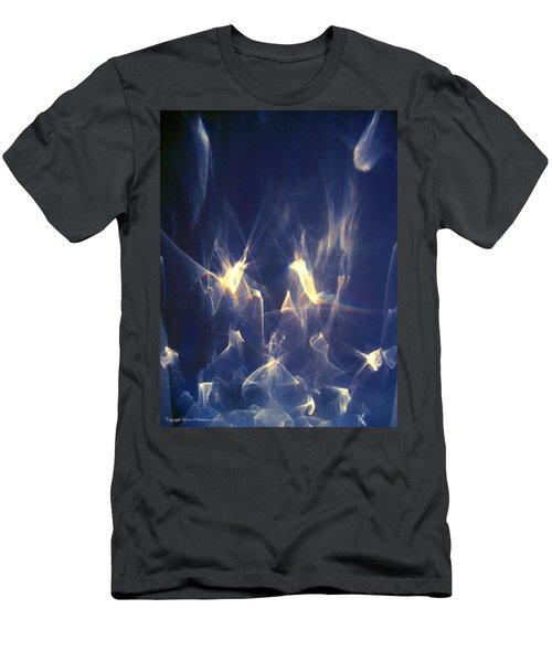 Men's T-Shirt (Slim Fit) featuring the photograph Golden Birds by Leena Pekkalainen