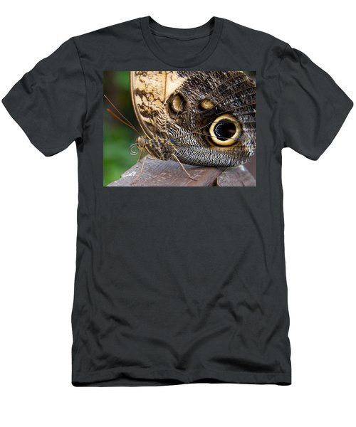 Golden Butterfly Men's T-Shirt (Athletic Fit)