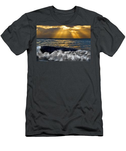 Golden Eye Of The Morning Men's T-Shirt (Athletic Fit)