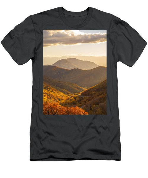 Golden Fall Men's T-Shirt (Athletic Fit)