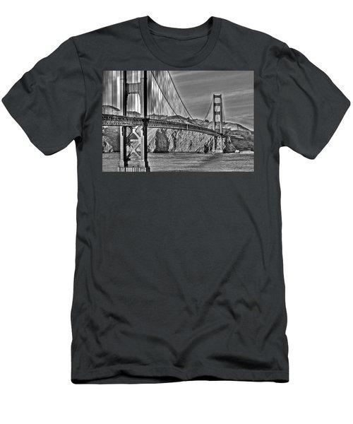 Golden Gate Over The Bay 2 Men's T-Shirt (Athletic Fit)