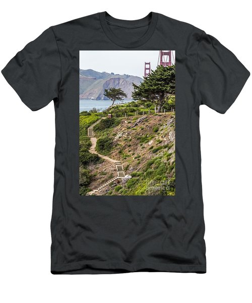Golden Gate Trail Men's T-Shirt (Athletic Fit)