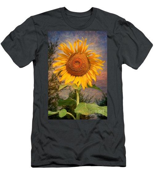 Golden Sunflower Men's T-Shirt (Athletic Fit)